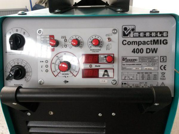 MERKLE CompactMIG 400DW vezérlő panel