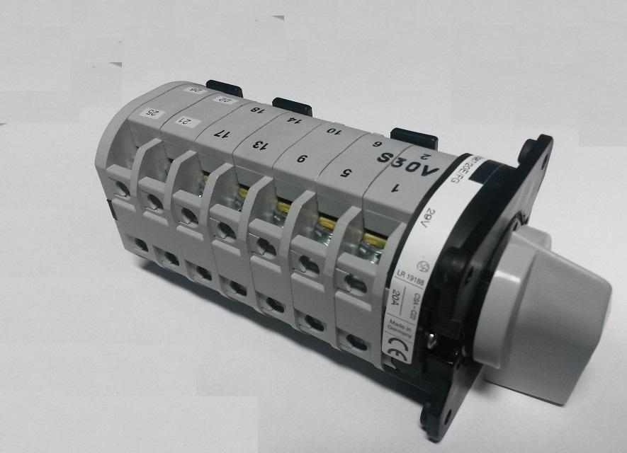 Fokozatkapcsoló –  OptiMIG 350 (4 állás)