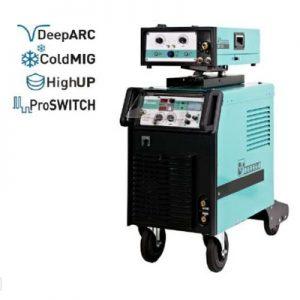HighPULSE 352DW – Ipari különtolós impulzus hegesztőgép
