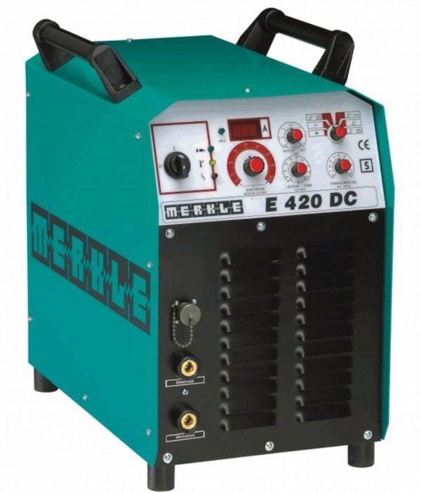 Merkle E 420 DC nagyteljesítményű elektróda hegesztő