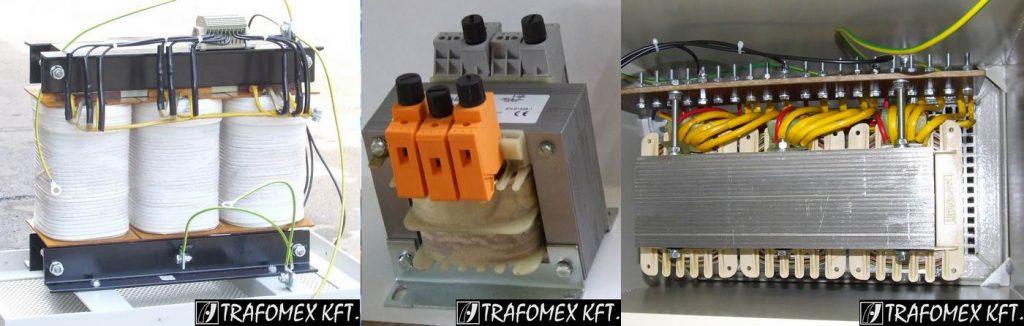 TRAFOMEX Kft. - Vállaljuk egyedi megrendelésre 1 és 3 fázisú száraz kivitelű transzformátorok valamint lég és vasmagos fojtók gyártását