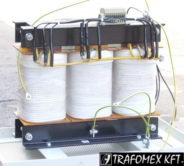 TRAFOMEX Kft. - 3 fázisú 5 kVA-os transzformátor