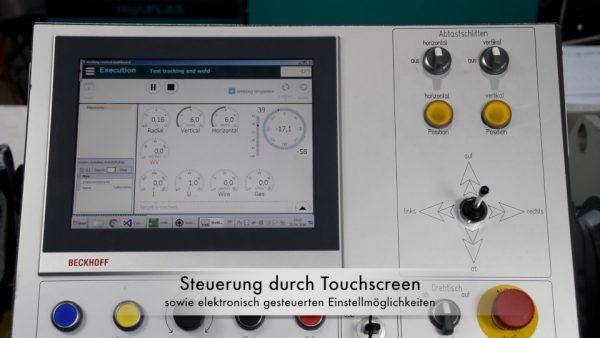 ME LA 200 - optikai lézeres varrásmegfigyelő és varratkövető rendszer a MERKLE-től