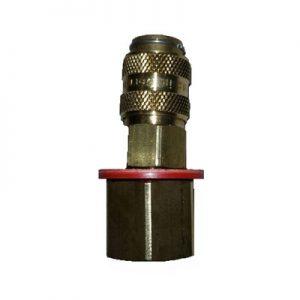 MERKLE Gépoldali víz gyorscsatlakozó 3/8″ (piros) (rögzítő csonk nélkül)