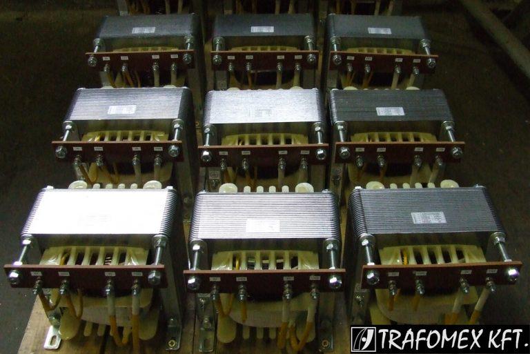 1 fázisú 3 kVA-os transzformátorok a TRAFOMEX Kft.-től