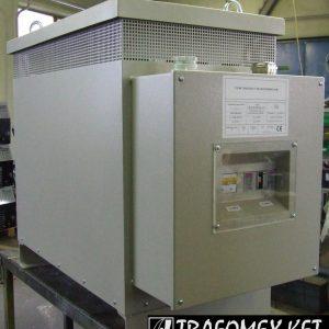 3 fázisú 80 kVA-os transzformátor tokozásban védelemmel ellátva a TRAFOMEX Kft.-től